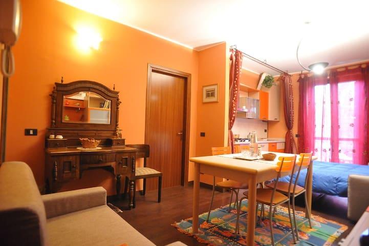 Crema Centro, grazioso monolocale - Крема - Квартира