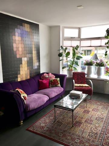 artistic colorfull fam house - Den Helder - 단독주택