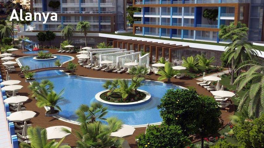 Luxus-Appartement 2-Zi in Alanya/Türkei - Алания