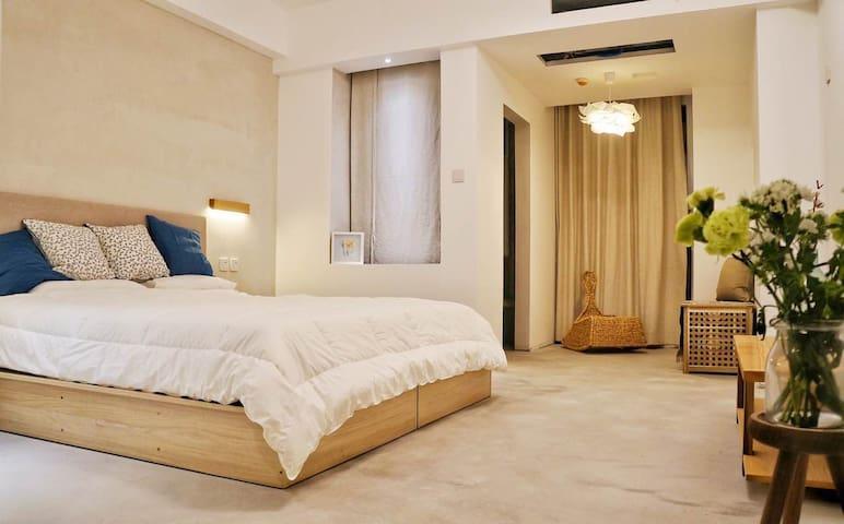 大雁塔邻居的禅意空间 - Xi'an - Appartement
