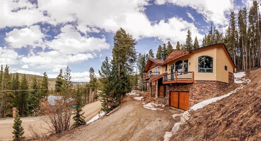 Beautiful Breck home with panoramic mountain views - Breckenridge - Huis