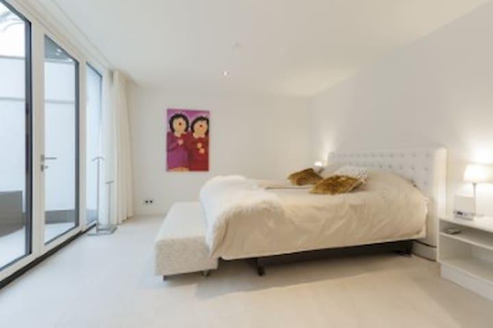 Suite Goud, een ruime, luxe suite van 43 m2 . - 's-Heerenberg - Oda + Kahvaltı
