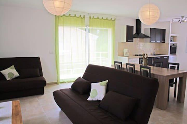 Villa Climatisée 4* à 5mn de la mer - Sorbo-Ocagnano - House