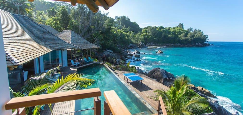 Exclusive villa on the Sea - Seychelles - Machabee - Dom