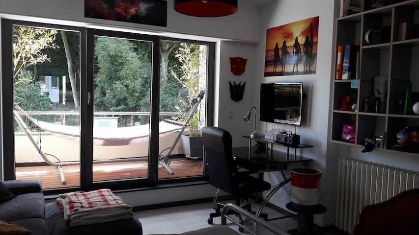 Chambre Arlon-Luxembourg pour séjour au Luxembourg - Arlon - Hus