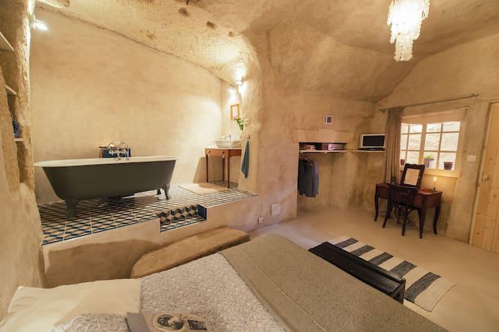 Amboise Troglodyte/Chez Hélène - Nazelles-Négron - Jeskyně