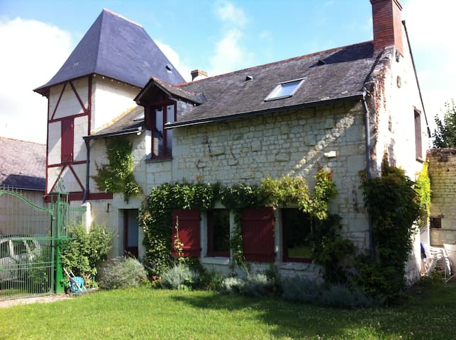 Nice house in the Loire Valley - Le Coudray-Macouard - Rumah