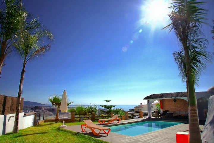 villa paraiso con piscina y spa - Салобрении - Вилла