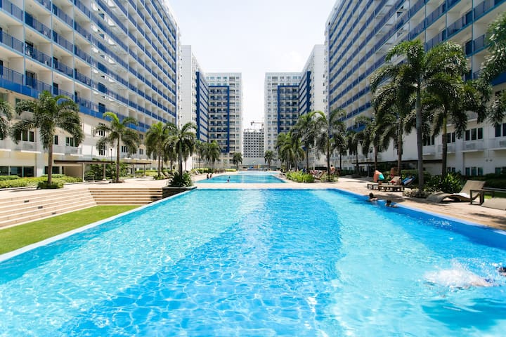 2 Bedroom Condo Across Mall of Asia - Манила - Квартира