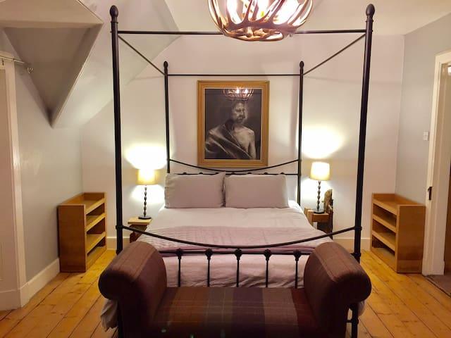 Artist's apartment in Former Temperance Hotel - Aberfeldy - Departamento