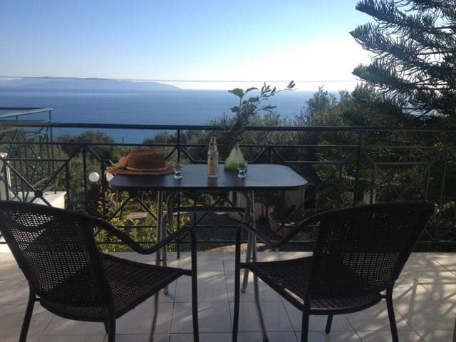Kefalonia Cottage -For 4- Sea View - Vlachata