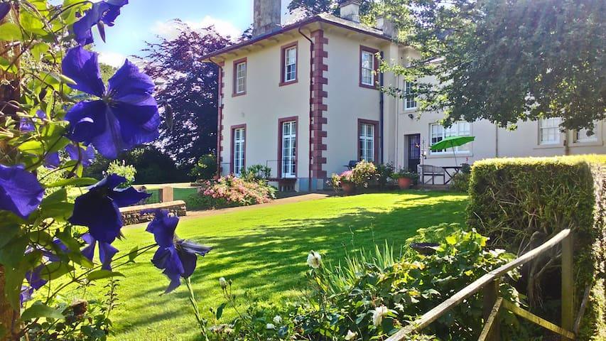 Elegant Georgian Country Mansion Twin Room - Ireby - Casa de camp