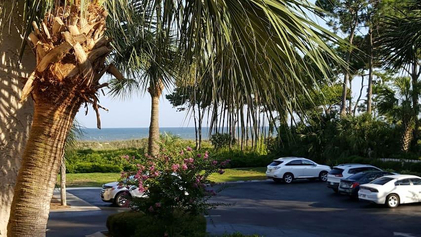 Newly Renovated Ocean View Villa, Free Bikes - Hilton Head Island - Villa