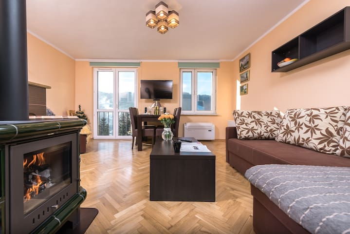 Szczawnica - Apartament z widokiem na Palenicę - Szczawnica - Leilighet
