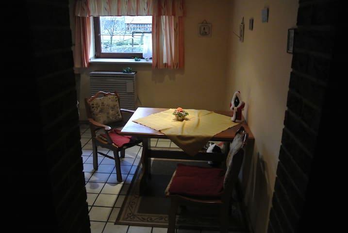 Gemütliche ruhige Wohnung für Monteure etc. - Osterholz-Scharmbeck - 公寓