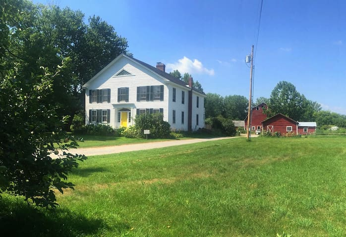 Farm Stay near Middlebury (room 1) - New Haven - Bed & Breakfast