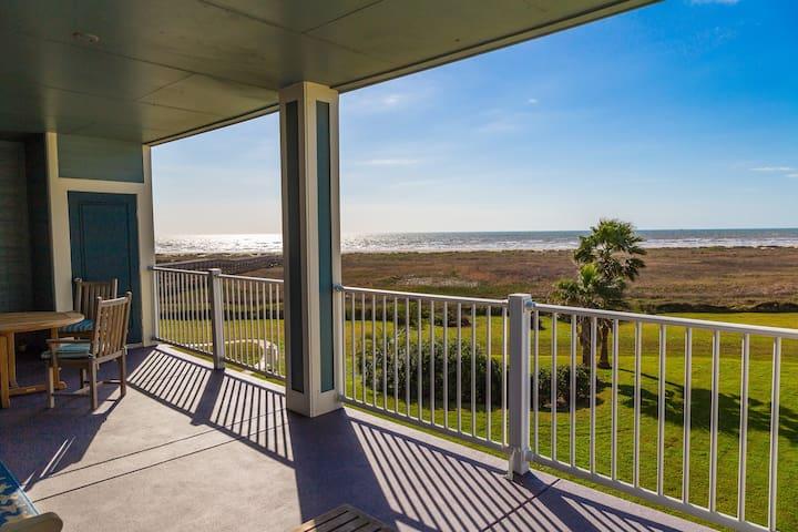 Beachfront Bliss On Galveston Island - Galveston - Departamento
