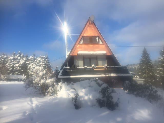 Haus Fichtelgebirge in Nagel am See - Nagel - Talo