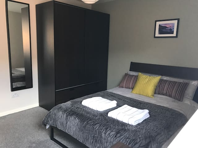 Modern Double room, close to Belfast City Centre - Belfast - Departamento