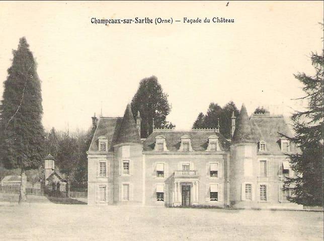 Chateau & Haras au coeur du Perche - Champeaux-sur-Sarthe