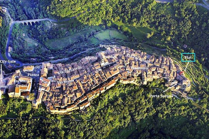 Pitigliano IS Toscana PURE! - Pitigliano  - Huoneisto