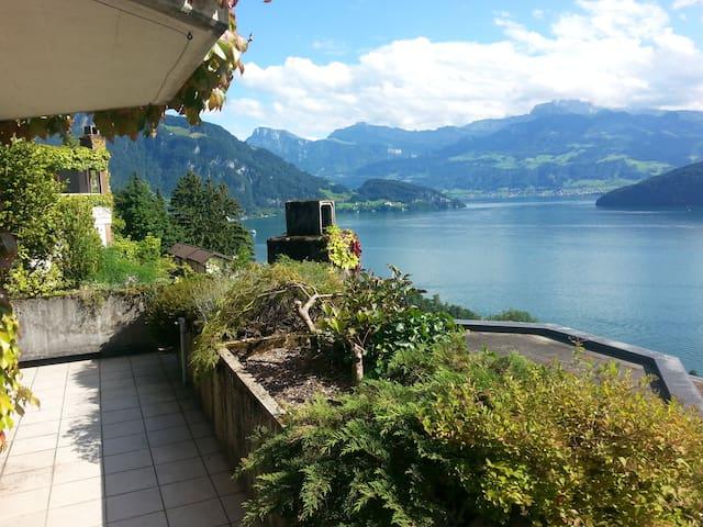 A breathtaking view - Weggis - Daire
