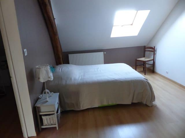 chambre dans ptte commune 8kms Issoudun - Sainte-Lizaigne - 獨棟
