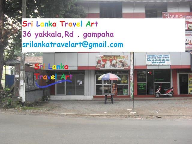 sri lanka travel art - Gampaha - Daire