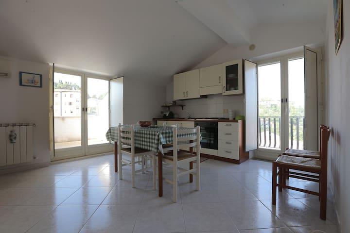 Attico mansardato con vista Madonie - Nicosia - Wohnung