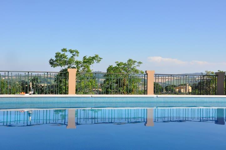 Private appartment in Villa Fonti,  - Rupoli - Villa