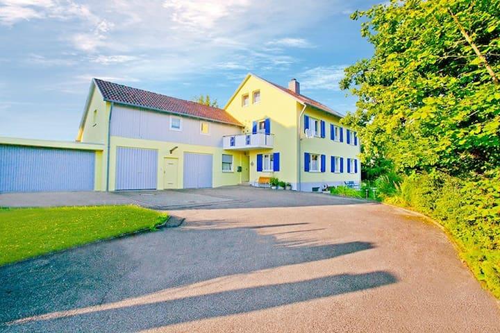 """Auszeit-Ferienwohnung Veringenstadt """"Sternenzelt"""" - Veringenstadt - Appartement"""