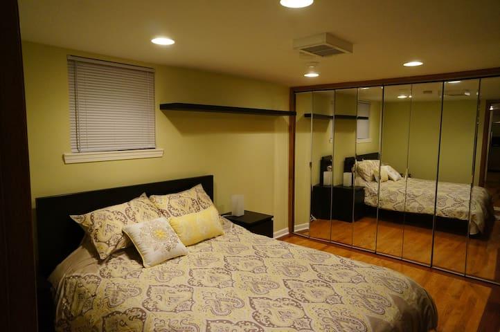 Cozy one bedroom basement apartment - Evanston