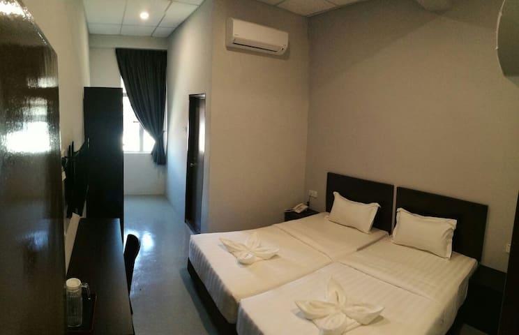 Standard Twin Bedroom - 怡保 - 精品飯店