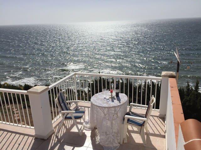 Amazing villa overlooking the Mediterranean Sea - Vélez-Málaga - Hus