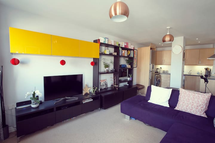 Clean, Quirky and Modern Apartment. - Walton-on-Thames - Pis