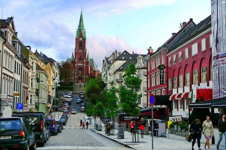 In the heart of Bergen ♡ - bergen - Huis