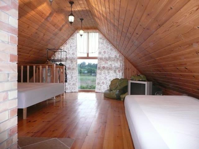 SUMMER HOUSE WITH POND & SAUNA - Jelgava - Huis