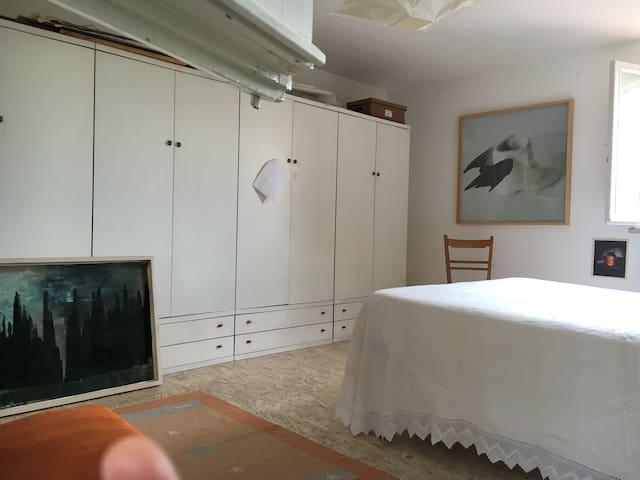 Camera matrimoniale privata in loft - Monteriggioni - Loft