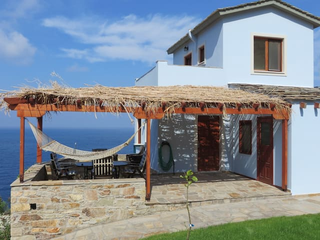 Luxury 3 Bed/3 Bath Sea View Villa - Ikaria