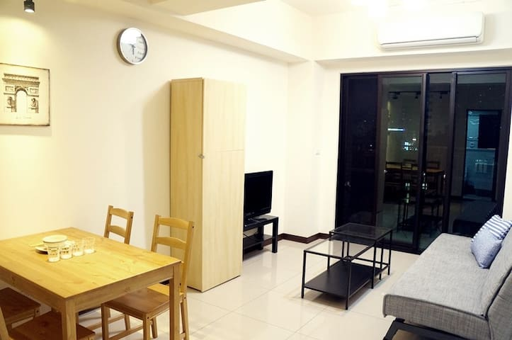 Cozy apartment, Taoyuan airport bus go through - Taoyuan District - Huoneisto
