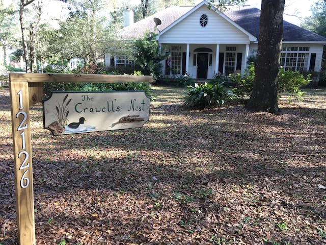 The Crowell's Nest - Magnolia Springs - Casa