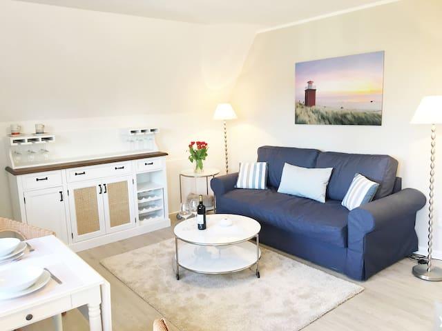 Zentral, gemütlich und strandnah - Wyk auf Föhr - Apartament