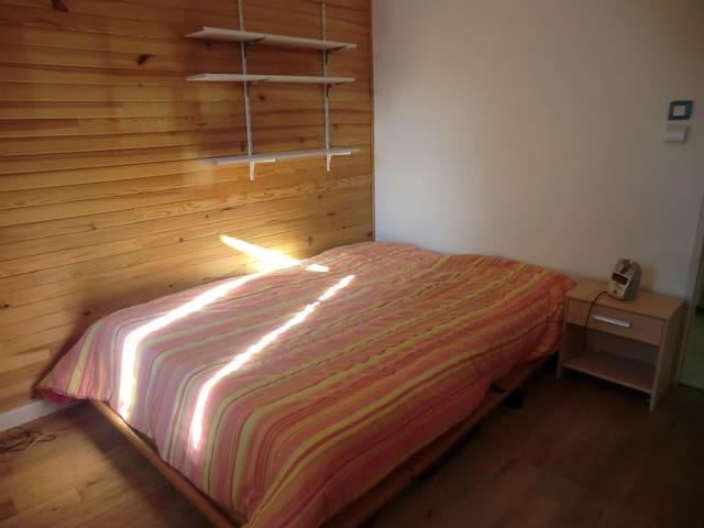 Chambre dans maison écologique au calme - Le Bar-sur-Loup