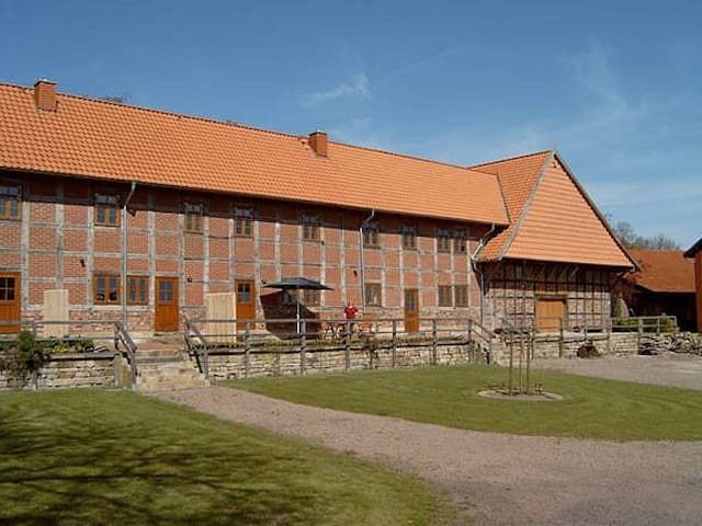 Großer Fachwerkhof - Wölpinghausen - Condo