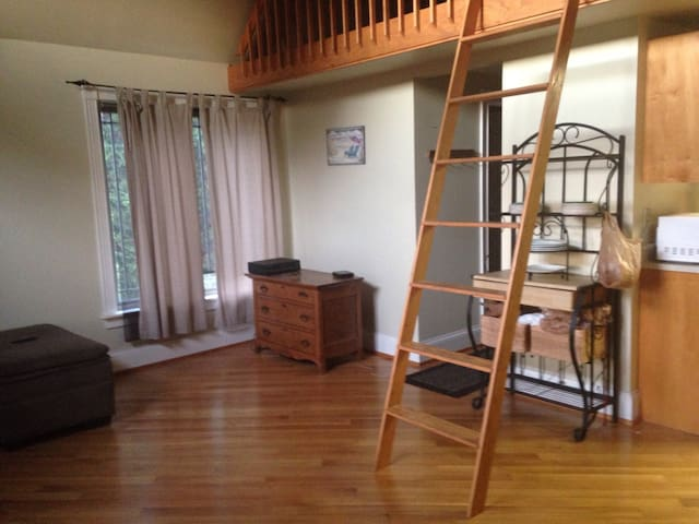 Cozy Secluded Guest House surrounded by woods - Portsmouth