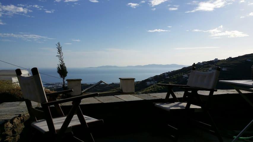 Apartment with amazing Aegean View - Triantaros - Leilighet