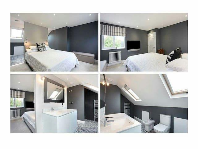Entire Loft (2 dbl Bedrooms & 1 en-suite Bathroom) - Windsor - Dom