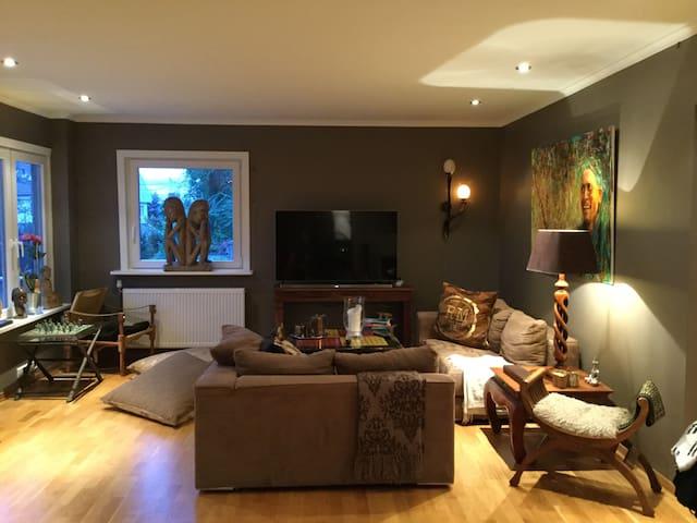Beautiful apartment, big Terra's, - Bærum - Daire