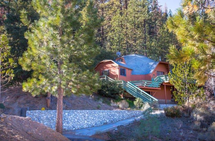 Modern Geodesic Mountain GetAway - Pine Mountain Club - Casa