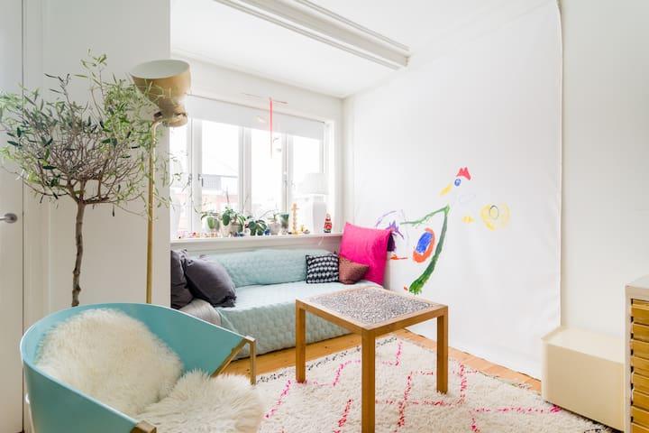 Beautiful smal bedroom - Hellerup - Lejlighed